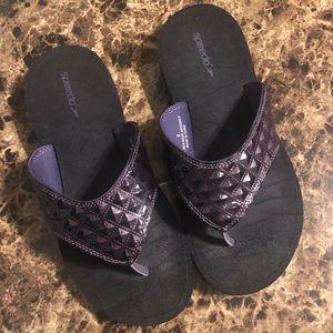 Speedo Purple Flip Flops